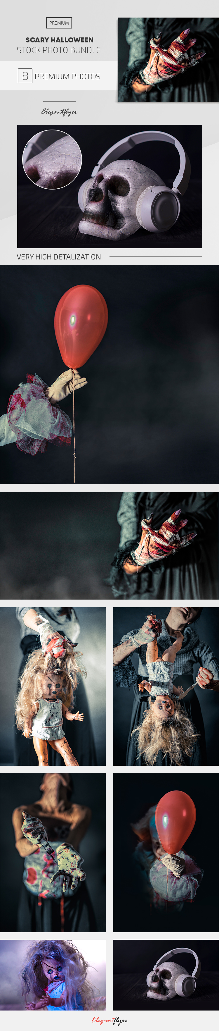 Scary Halloween – Premium Stock Photos Bundle