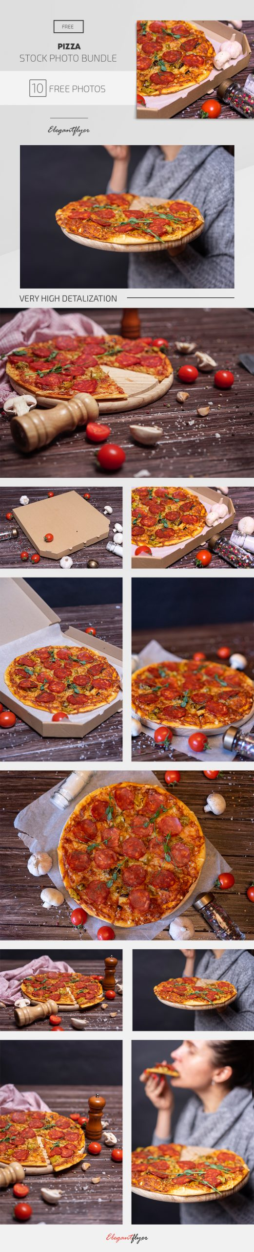 Pizza – 10 Free Stock Photos Bundle