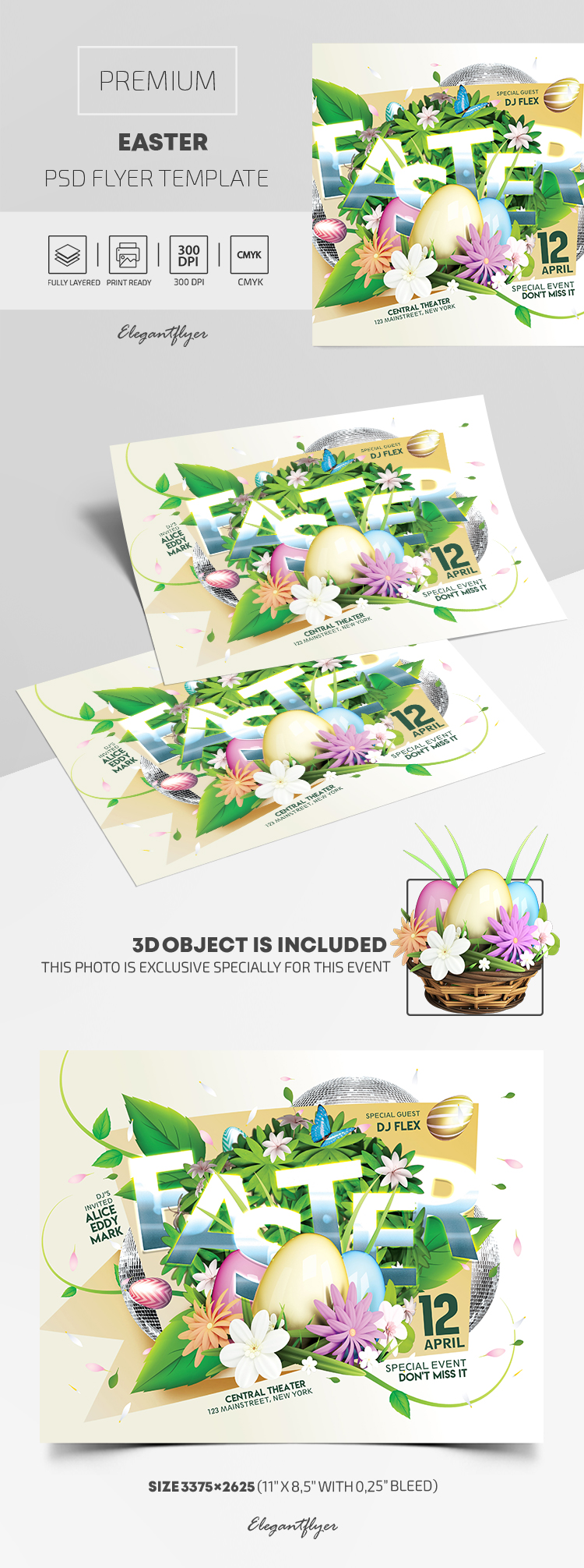 Easter – Premium PSD Flyer Template