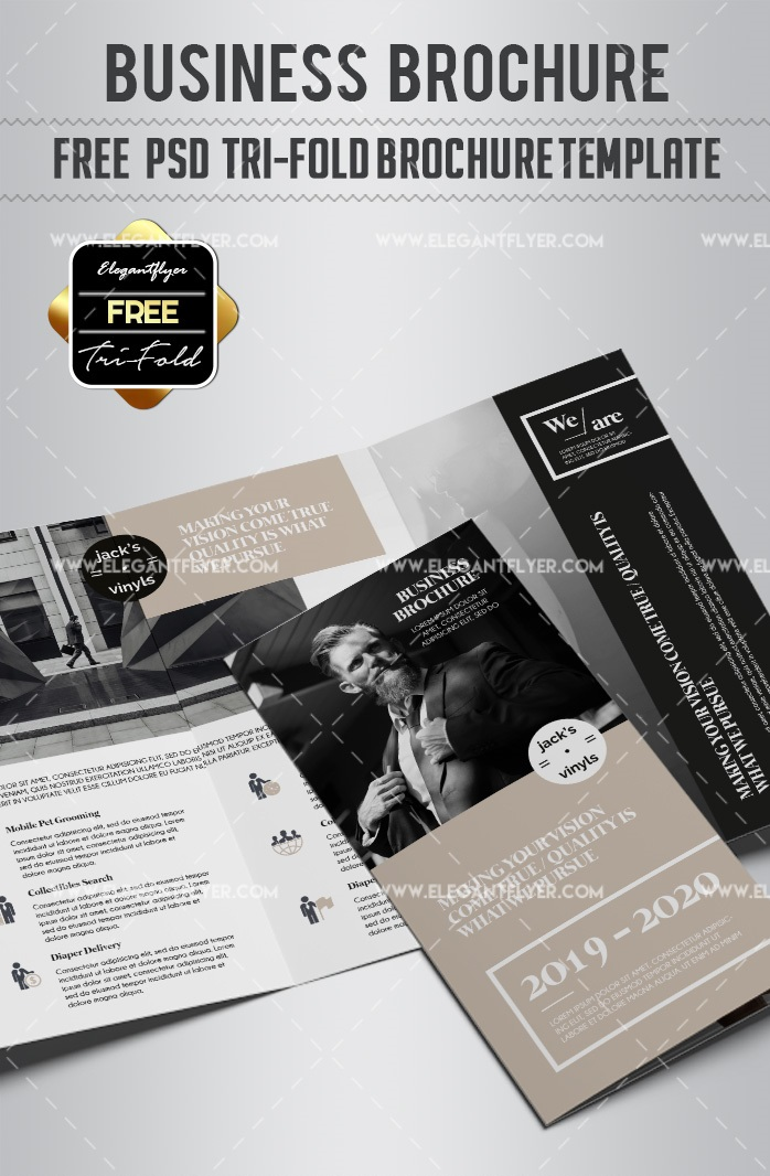 30+ Free Templates for Business Brochure Design