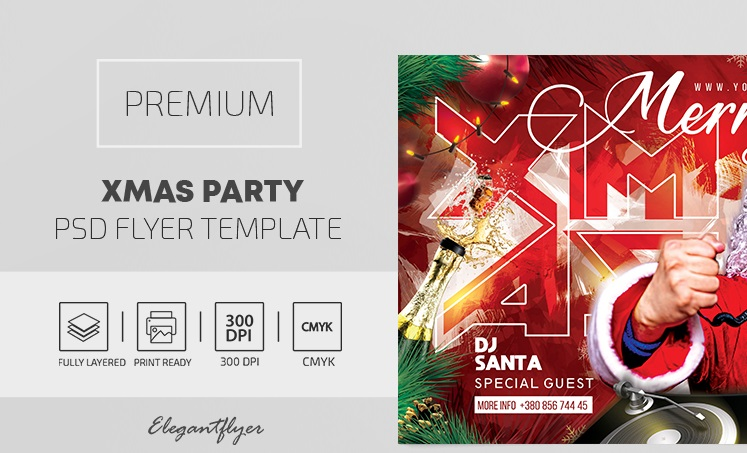 45+ Free Christmas Flyer Templates in PSD + Premium Version!