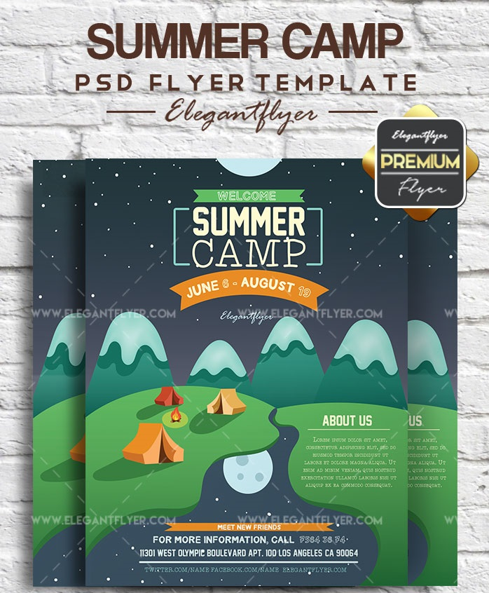 45+ Free Travel Flyer Templates in PSD + Premium Version!