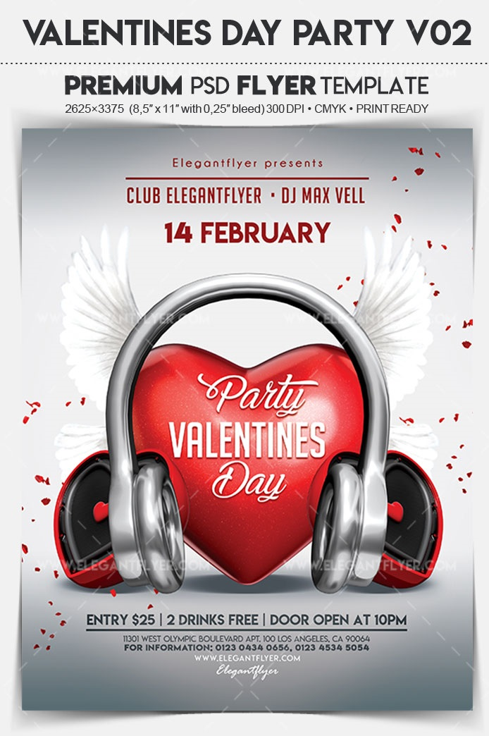40+ Free Valentines Day Flyers Templates in PSD + Premium Version!