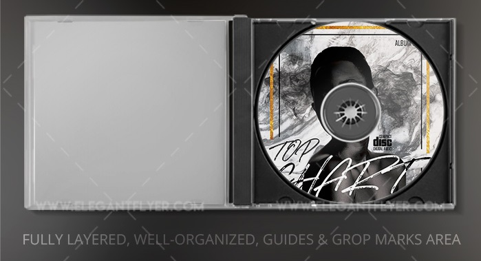 30+ Free CD lable templates for DJs and Musicians!