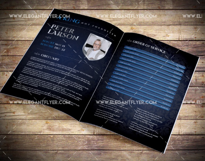 20+ Free Best Funeral Brochure Templates in 2020