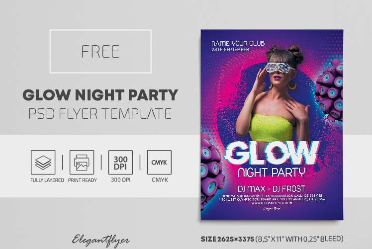 50+ Free Party Flyer Templates in PSD + Premium Version!