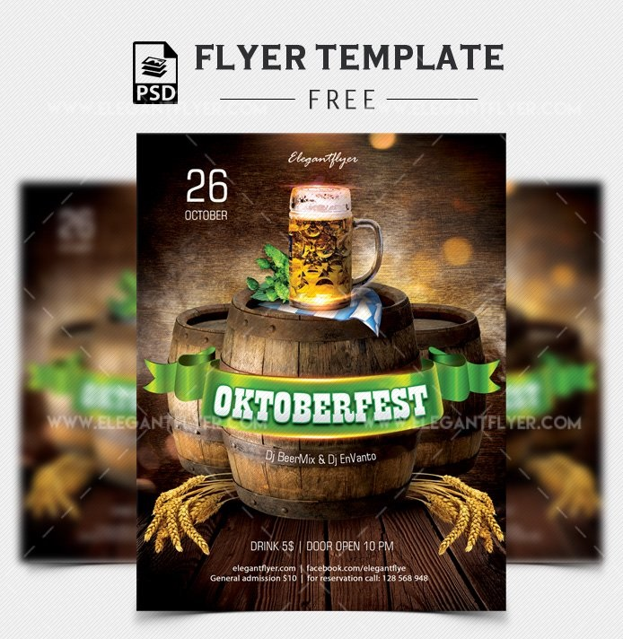 45+ Free Food Flyer Templates in PSD + Premium Version!