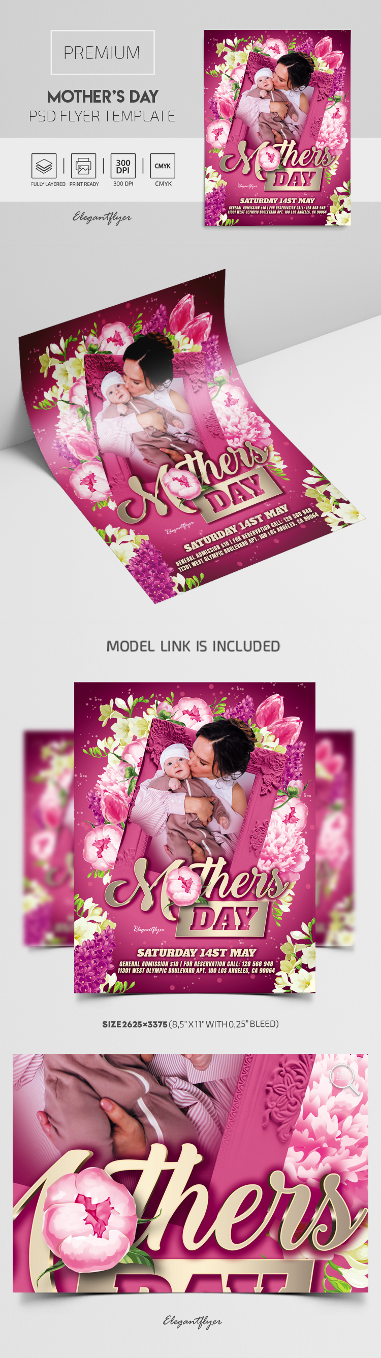 Mother's Day – Premium PSD Flyer Template