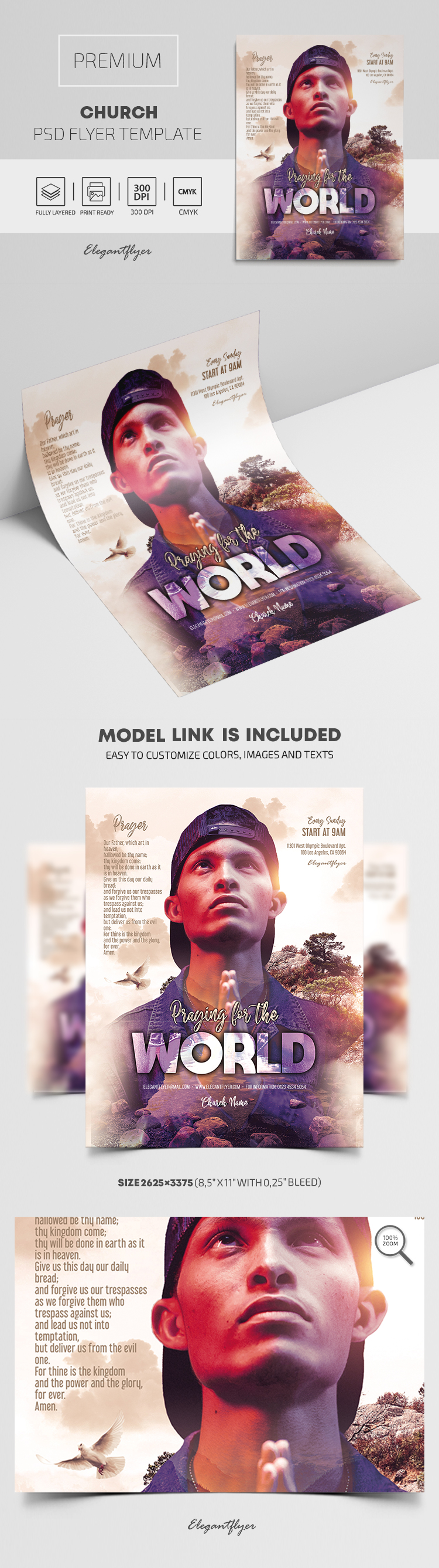 Church – Premium PSD Flyer Template