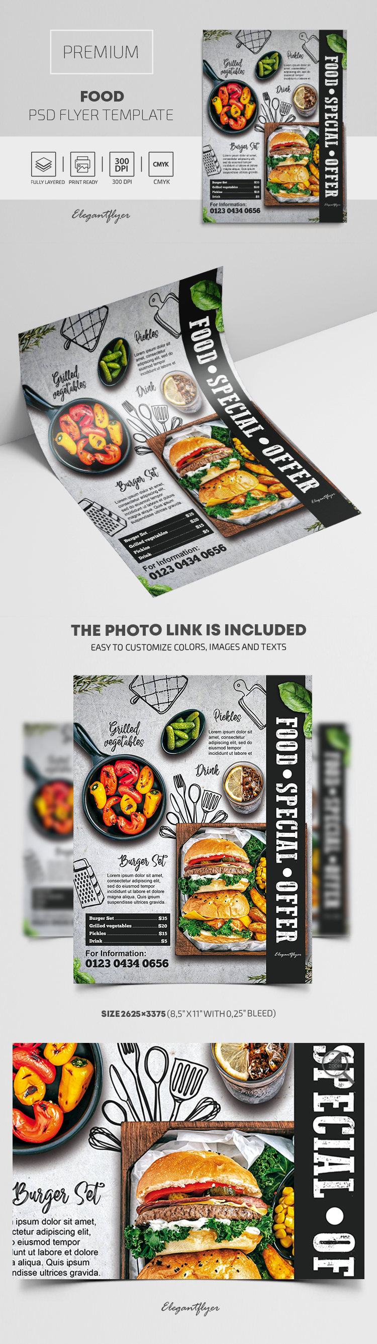 Food – Premium PSD Flyer Template
