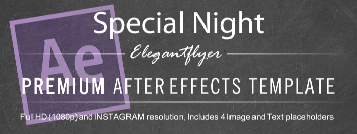 Special Night After Effects Template