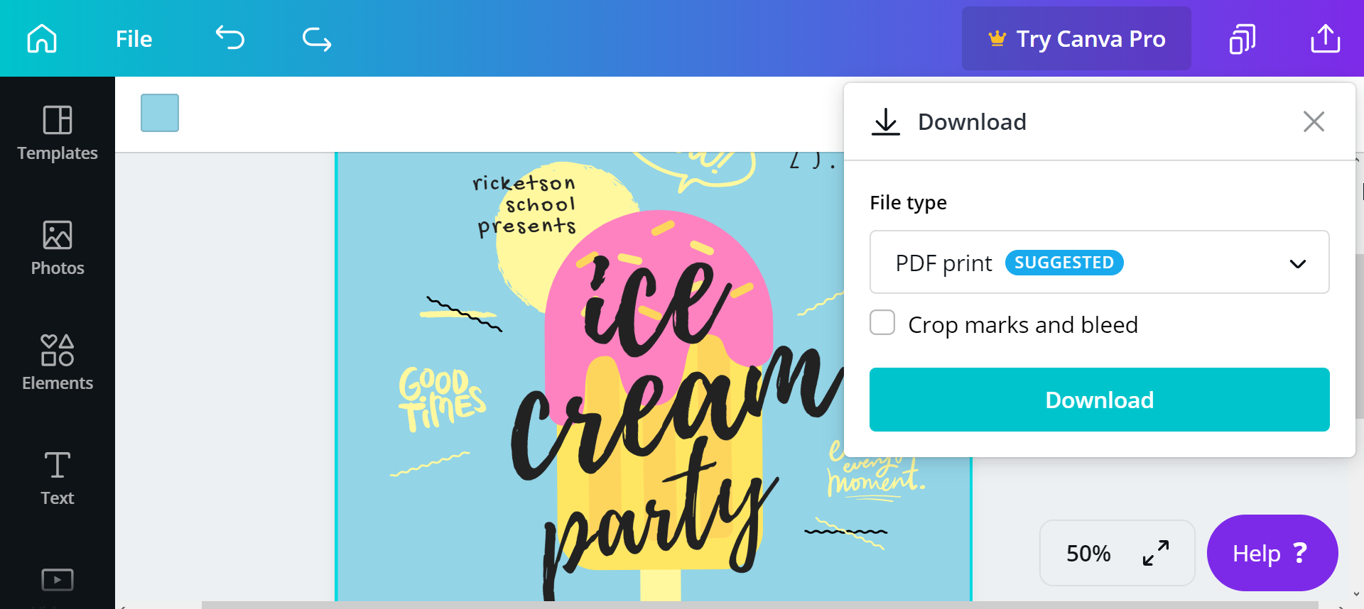 How to Make a Party Flyer in 3 Simple Steps
