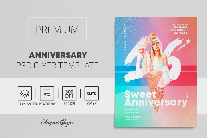 50+ Free Birthday Flyer Templates in PSD + Premium Version!