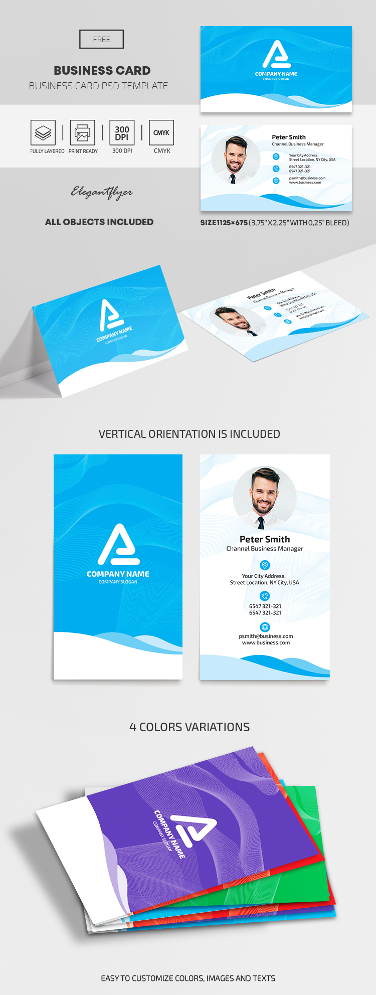 Free Business Card Set