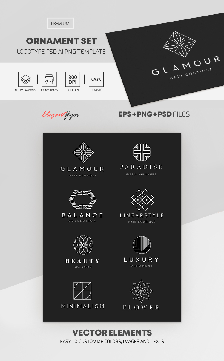 Ornament Set – Premium Logo Set