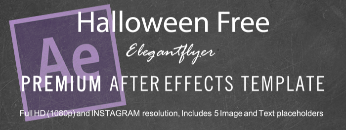 Halloween Free After Effects Template