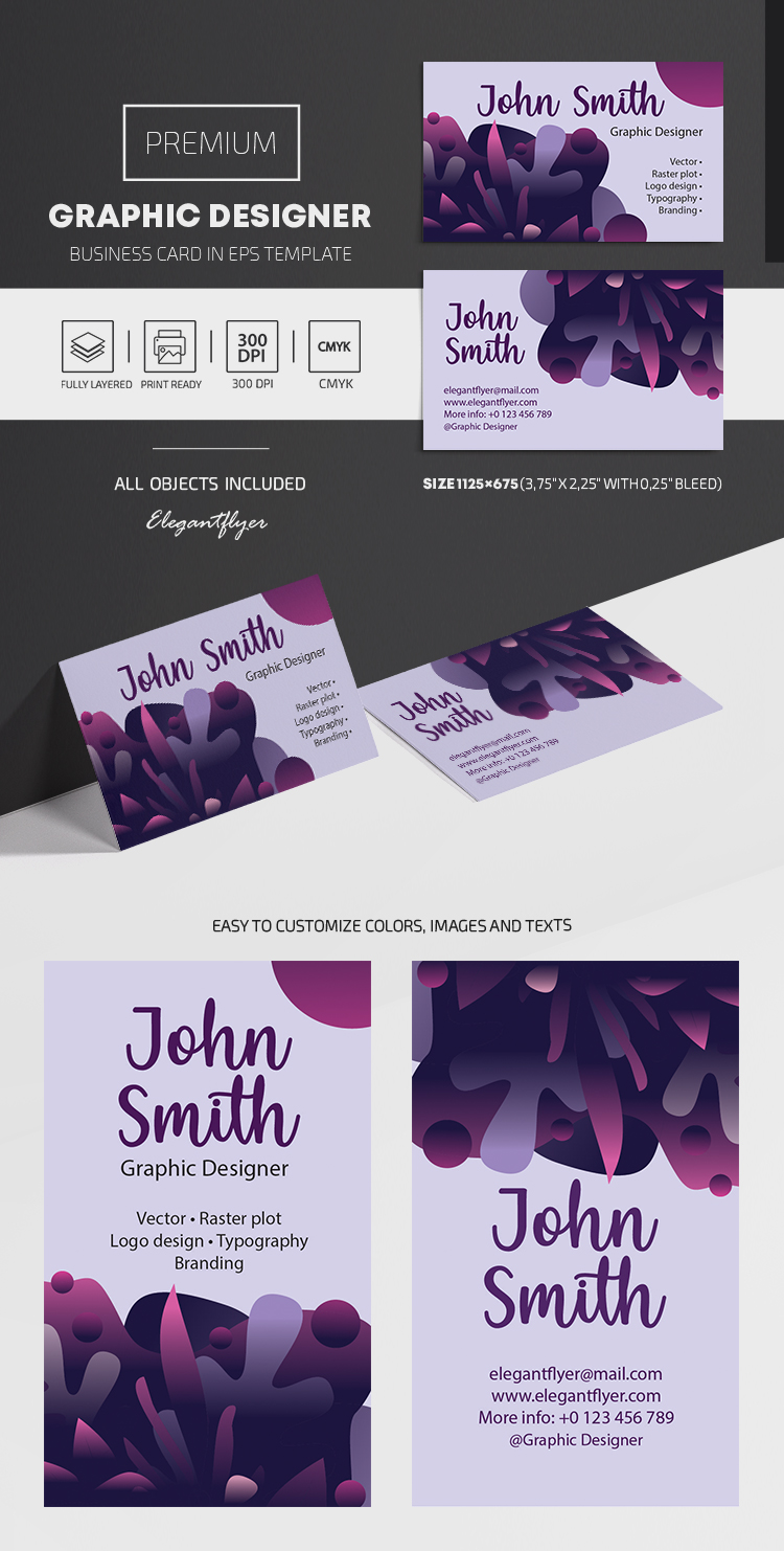 Graphic Designer – EPS Business Card Template