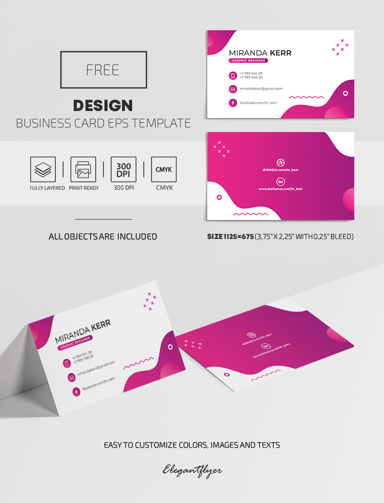 Free Design Business Card EPS Template