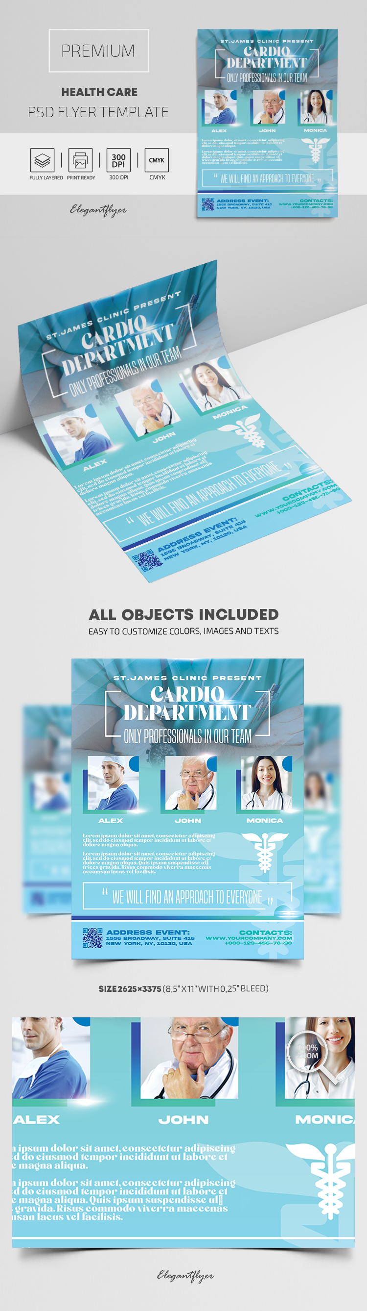 Health Care – Premium PSD Flyer Template