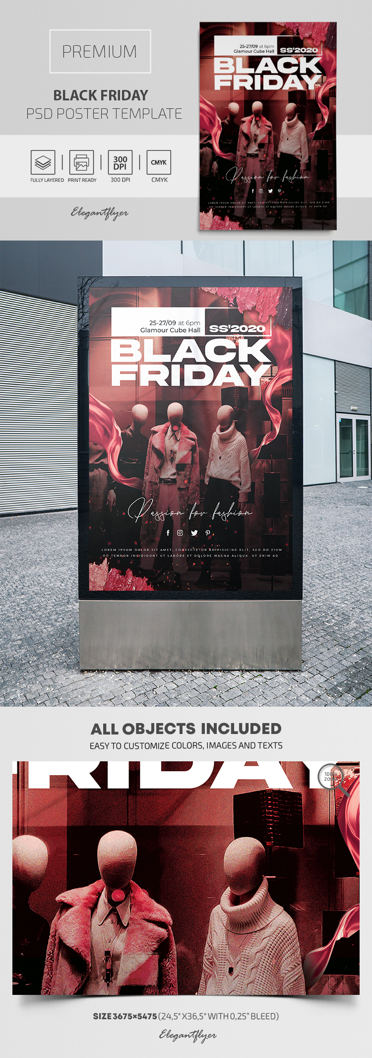 Black Friday – Premium PSD Poster Template