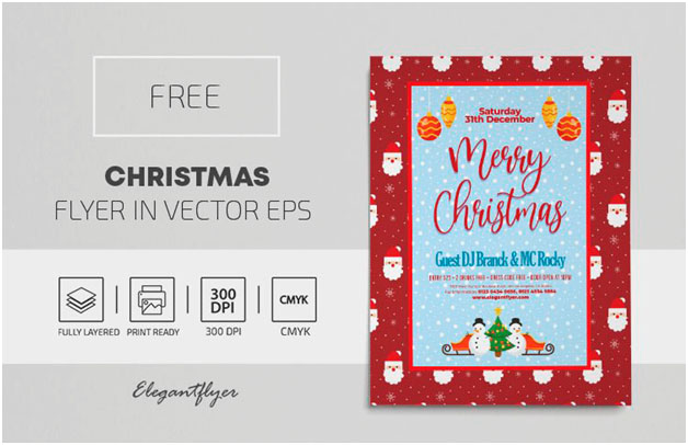 20 New Flyer Ideas for a Christmas Party
