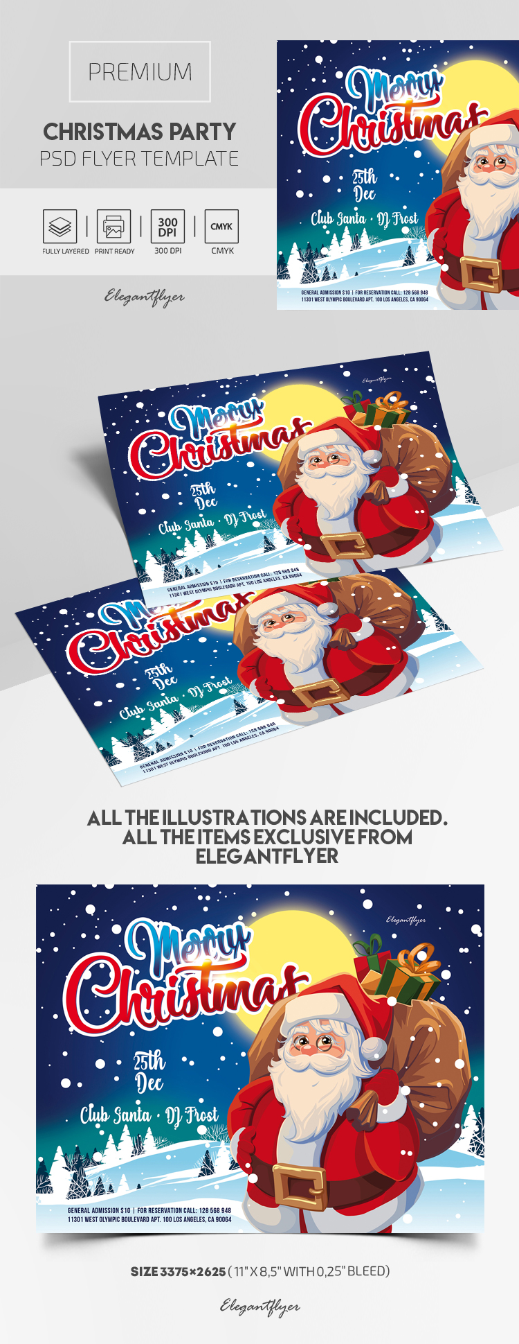 Christmas Party – Premium PSD Flyer Template