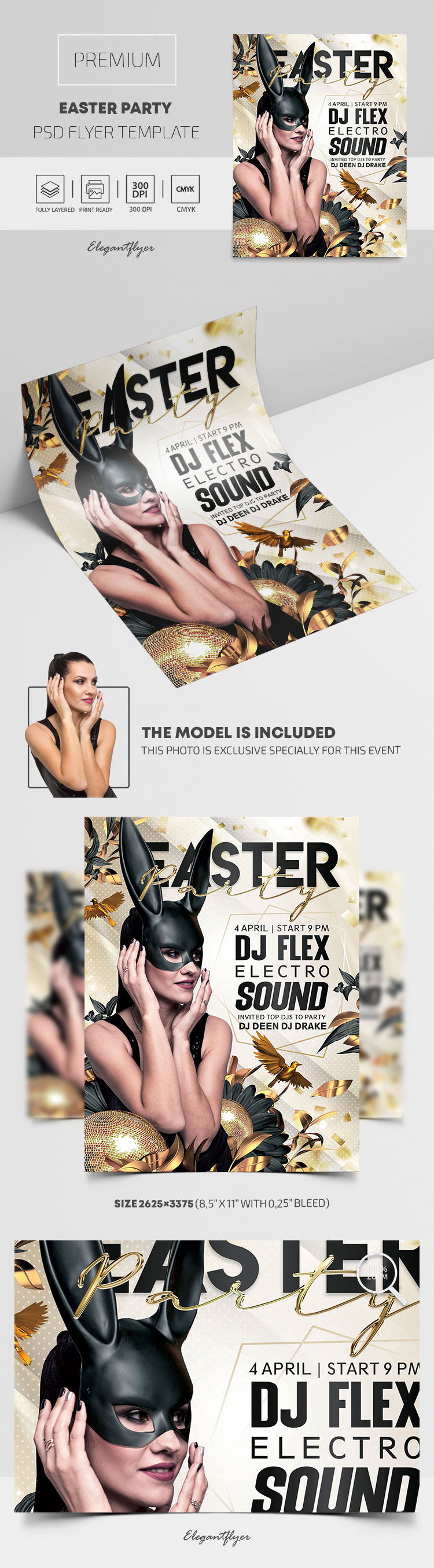 Easter Party – Premium PSD Flyer Template