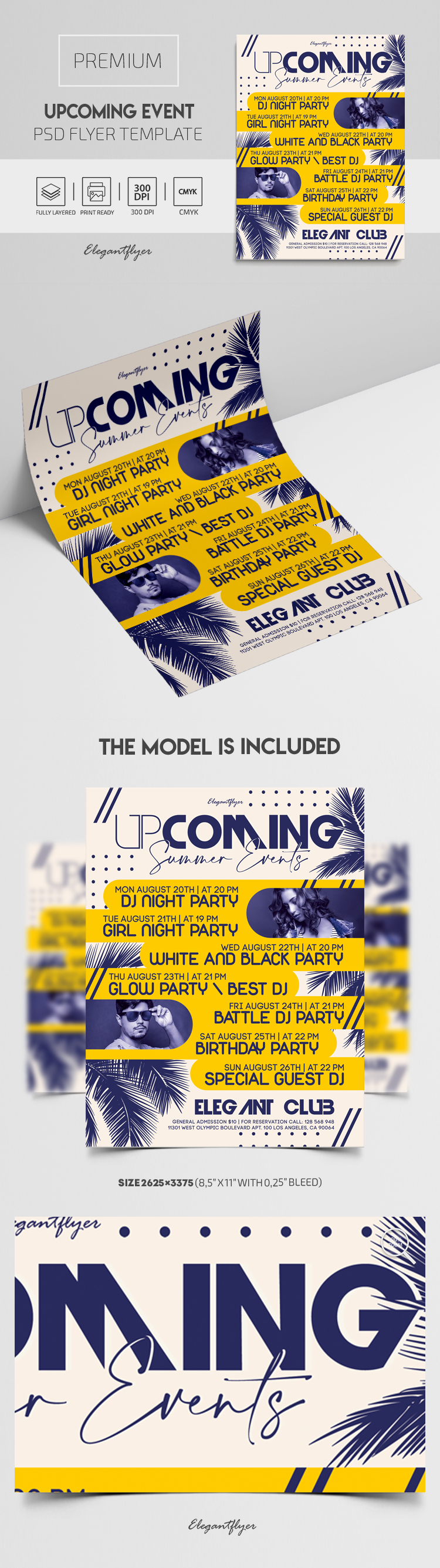 Upcoming Event – Premium PSD Flyer Template