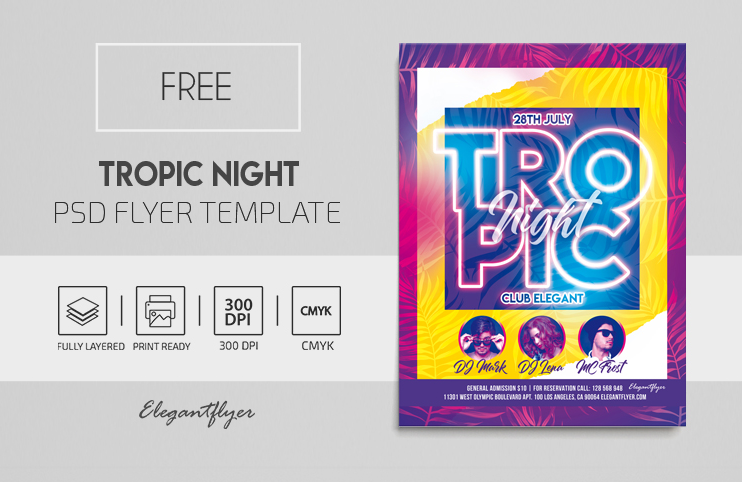 May 2021: 24+ Fresh PSD Free & Premium Party Flyers Templates!